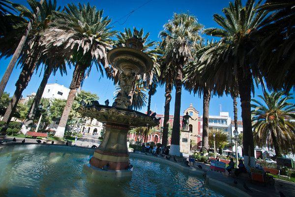 Plaza central tarija