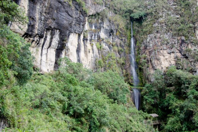 Cascadas de los incas loja