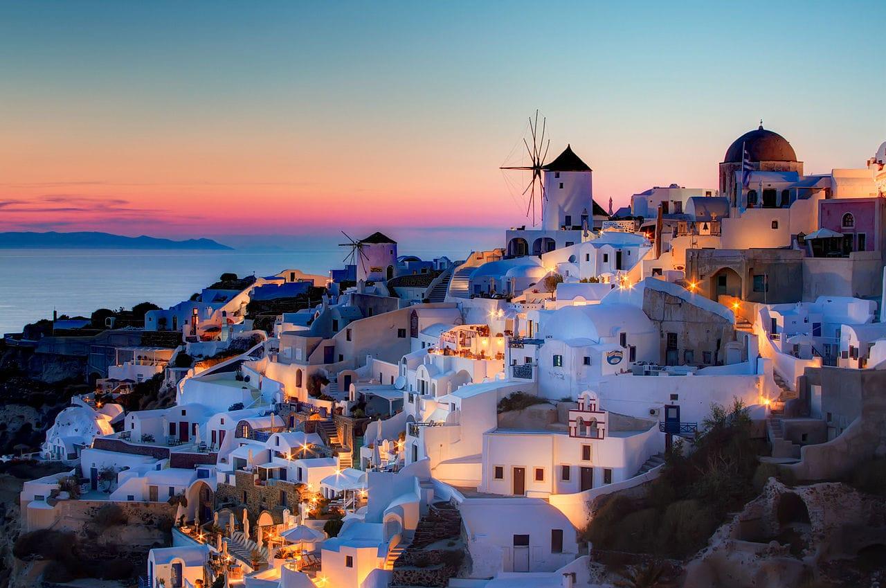 Lugares Turísticos de Santorini