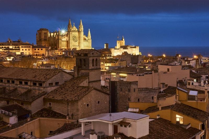 Lugares turísticos en Palma de Mallorca