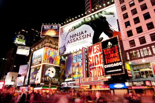 Como llegar y disfrutar de un musical en Broadway