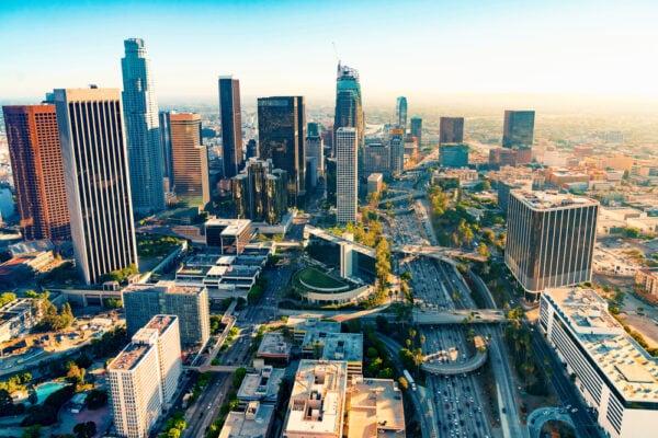 Formas de llegar a Downtown Los Ángeles