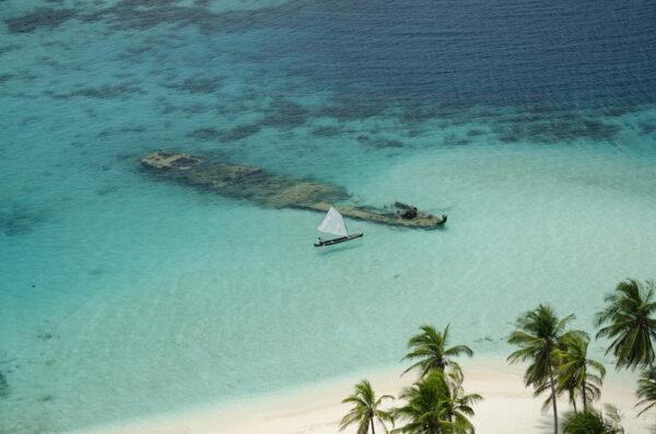 Islas San Blas vista