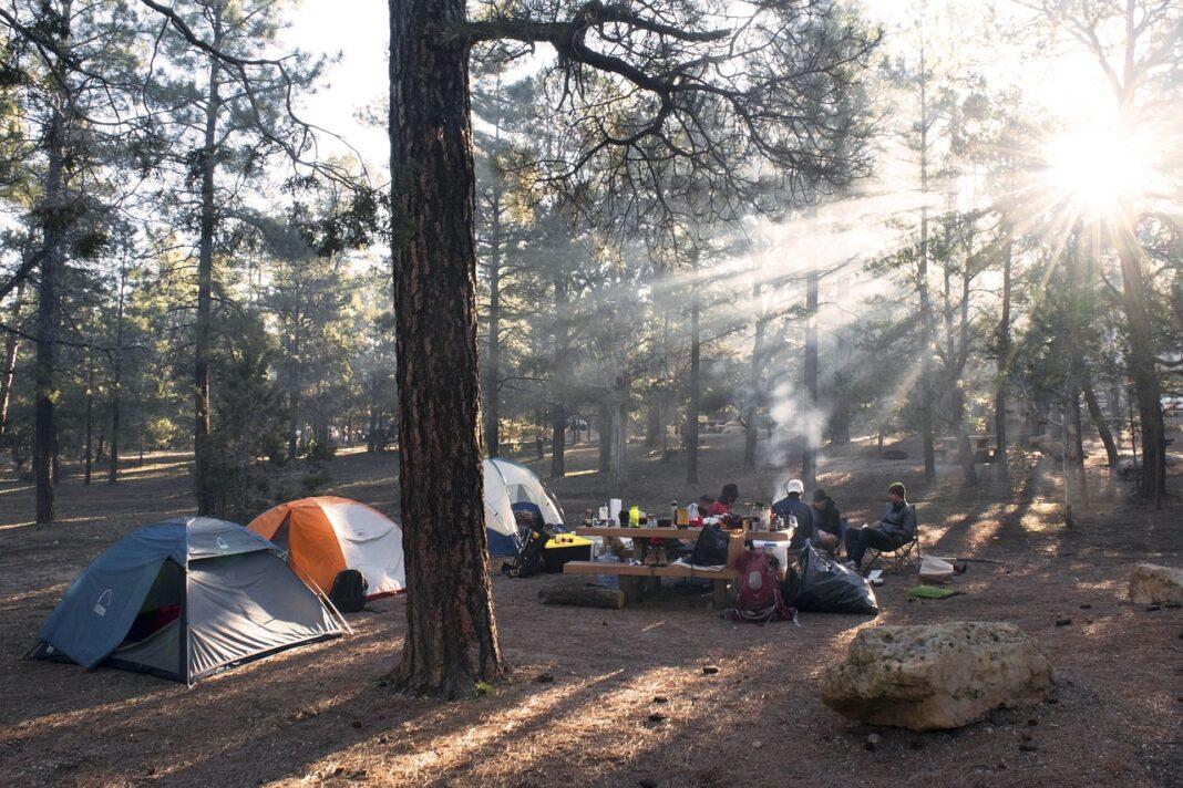 carpas lugares para acampar en puebla amanecer