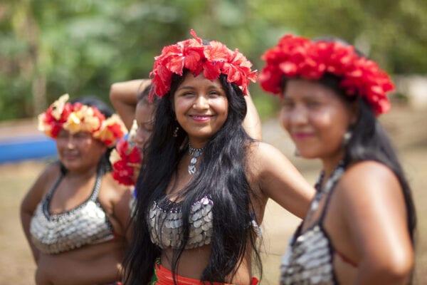 indígenas de emberá