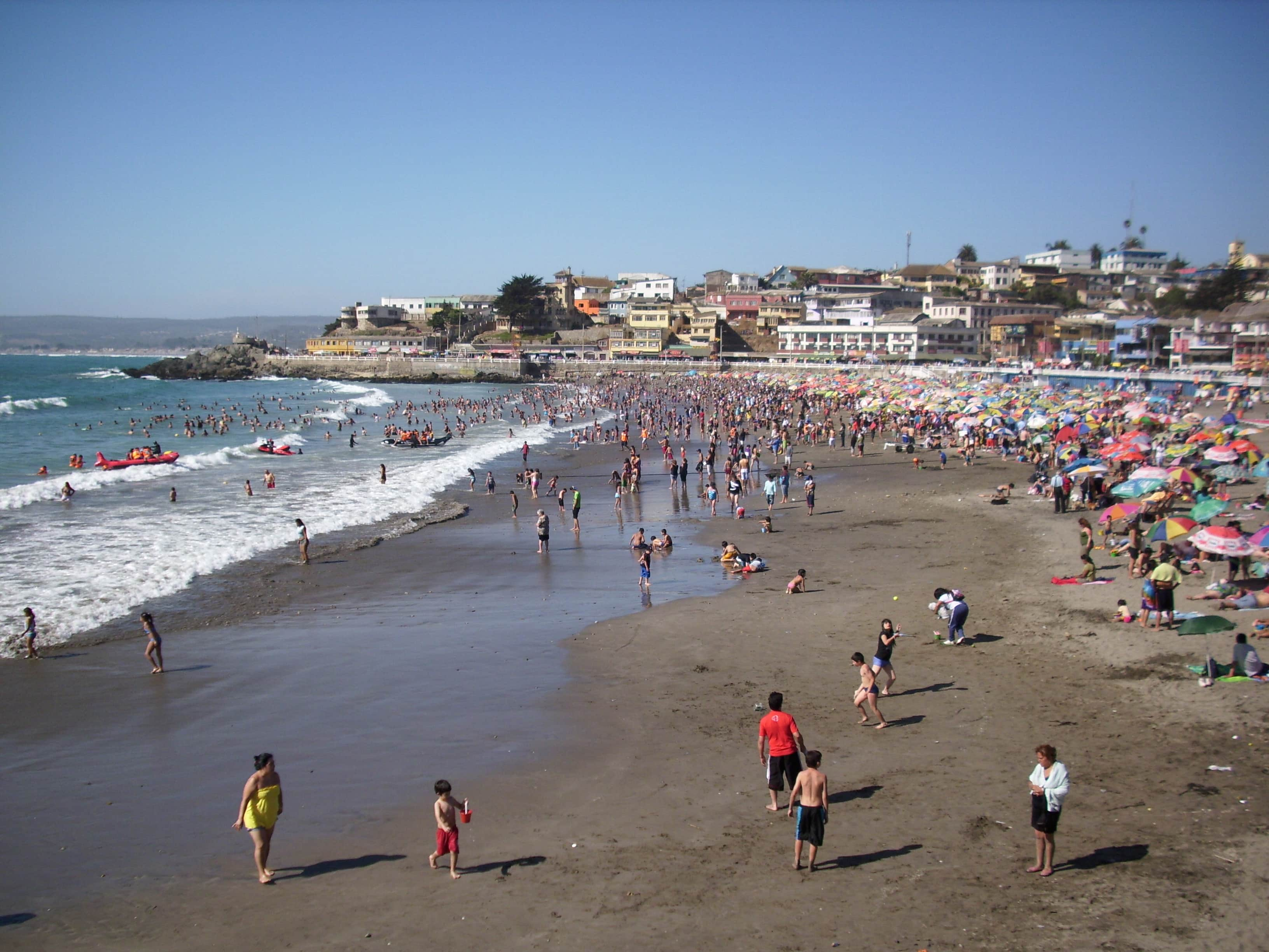 playas de Valparaíso