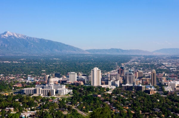 formas de moverse en Salt Lake City